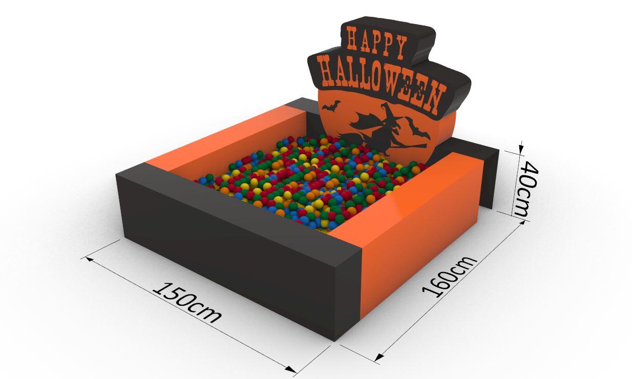 Suchy basen_Halloween