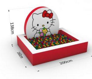 Suchy basen_Kotek_2<title>basen na kulki dla dziecka, basen na piłeczki dla dzieci </title>